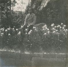 "Tsar Nicholas ll of Russia at Oreanda in 1914. ""AL"""