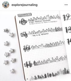 This is gorgeous from . Did you know we get a bunch of cool discounts for bujo stuff? Have a look in our links and go… Organization Bullet Journal, Bullet Journal Hacks, Bullet Journal Themes, Bullet Journal Spread, Bullet Journal Layout, Bullet Journal Inspiration, Bullet Journals, Bujo Weekly Spread, Neat Handwriting