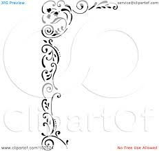 Royalty-Free (RF) Clipart Illustration of a Black And White Tulip Corner Border by Gina Jane Clip Art Pictures, Royalty Free Clipart, Free Cartoons, White Tulips, Corner Border, Cartoon Styles, Fine Art Prints, Black And White, Illustration