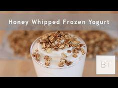 ▶ Honey Whipped Frozen Yogurt - YouTube