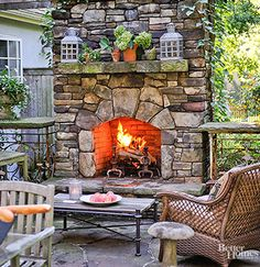21 Ways to Try Vintage Style Outdoors