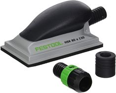 Festool 496962 80mm X 130mm Hand Sanding Block - - Amazon.com Festool Tools, Hand Sander, Prevent Blisters, Dust Extractor, Sanding Block, Painting Tools, Outdoor Power Equipment, Hands