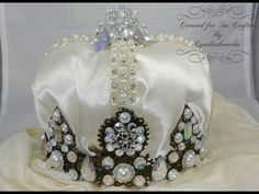 How to Make Beaded Tiaras & Crowns - Craft Tips #21 - YouTube