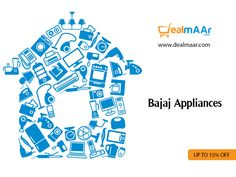 #Discount on all #Bajaj #homeappliances