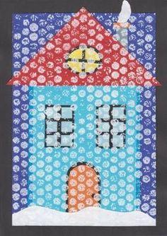 1509 best kids - winter activities images in 2019 Winter Activities For Kids, Winter Crafts For Kids, Winter Fun, Art For Kids, Winter Art Projects, Winter Project, Kindergarten Art, Preschool Art, Winter Thema