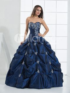 2e86da572b4 This is pretty much exactly what I ve been looking for. Blue Ball Gown