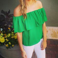 Bright Green. Shopellableu.com
