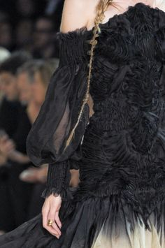 Alexander McQueenspring 2011. Sara Burton is McQueen and I love her just as much with her feminine wearability...