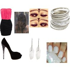 Laura by gen-mahone-r5 on Polyvore featuring Casadei and Wet Seal
