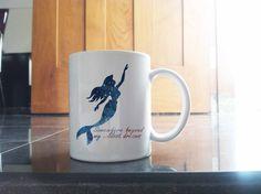ariel little mermaid quote for White Coffee Mug Two Sides Ceramics 11oz
