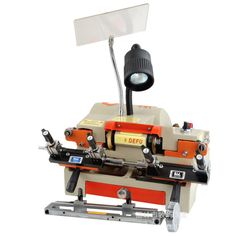 377.19$  Buy here - http://alijp8.worldwells.pw/go.php?t=32513684340 - DF-100E1 Horizontal Key Cutting Machine 377.19$