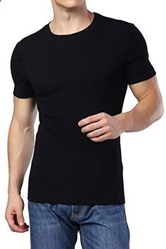 S-ZONE Perfect tshirt for mens. cotton + spandex New with Tags. Mens T Shirts Uk, Casual Shirts For Men, Mens Tops, Casual Tops, Men Casual, Black And Grey, Gray, Mens Fashion, Online Shopping