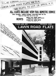 Lawn Road Flats ground floor plan
