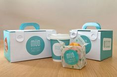 Take away boxes should all be like this. Stylish, perfect to carry around and with pretty #design #packaging too!