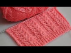 New knitting design/pattern #6 for cardigan, sweater, jacket, frock ||in hindi|| - YouTube