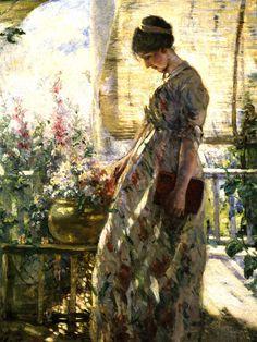Summer Afternoon, Lillian Genth, 1910