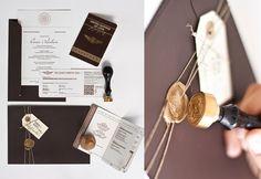 DIY-las originales invitaciones de boda-proyectpartystudio http://idoproyect.com/blog/home/esas-fantasticas-y-originales-todas-iguales-invitaciones-de-boda/