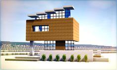 ✔ Minecraft: How to Build Modern Beach House