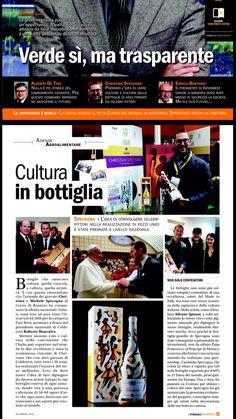 """Il """"Friuli Business"""" parla dell' Oscar Green 2016!!! #Coldiretti #OscarGreen #Vino #Arte #Specogna #CristianSpecogna"""
