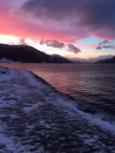 At the end of another day -Nordfjordeid, NORWAY -1/18