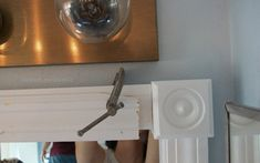 Frame an Outdated Mirror - Adventures in the Ballpark,overnight clamp Bathroom Mirror Frame Learning just how to frame a bathroom mirror can help you develop a custom mirror for almost any bathroom in the. Bathroom Mirrors Diy, Old Mirrors, Diy Mirror, Bathroom Ideas, Bathrooms, Bathroom Renos, Bathroom Organization, Master Bathroom, Kitchen Sink Interior