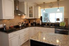 Uba Tuba Granite Countertops 30 70 Stainless Steel Sink