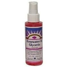 BEAUTY TIP!: Set & finish your makeup with Rosewater & Glycerin Spray! I have been using this for YEARS on myself & clients instead of MAC FIX+ … It's way cheaper in price & smells AMAZING! Pro Celebrity Makeup Artist, Mario Dedivanovic (makeup artist for Jennifer Lopez & Kim Kardashian) also uses Rosewater spray on his clients! Prevents cakey powder face, & the glycerin bonds your makeup to help make it last longer. My HOLY GRAIL!