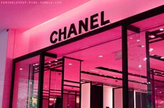 Pink Chanel Store!