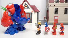 漫威英雄打怪兽 Marvel heros battle monster