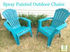 painting plastic chairs on pinterest spray paint plastic painting