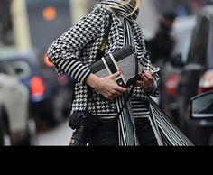 Tommy Ton photo in Milan - fashion week Fall 2013