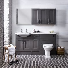 Burford Mercury Fitted Bathroom Furniture | Roper Rhodes