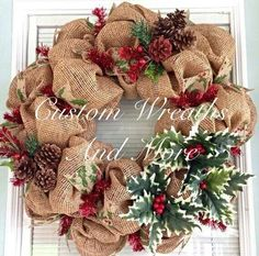 Custom Wreaths and More