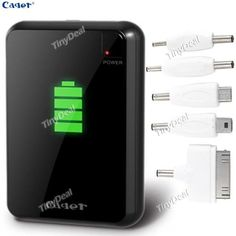 Mobile Power Bank Rechargeable Battery 7200mAh Dual USB