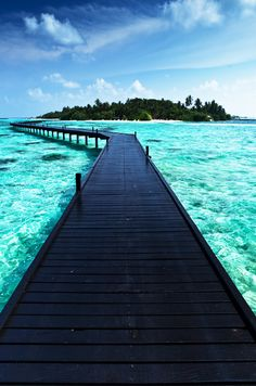Bora Bora...I'd like to take this walk.