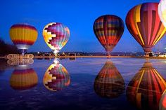 Hot Air Balloons at Night/Dawn