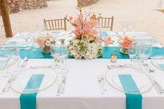 Mint wedding decor  Venue Kukua Punta Cana  Decor Begokua