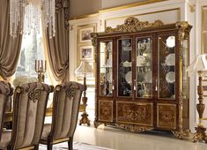 Classical dining table for sale inspiration and pictures Living Room Furniture, Modern Furniture, Home Furniture, Furniture Design, Dining Room Sets, Dining Room Chairs, Glass Dining Table Designs, Luxury Italian Furniture, Composite Adirondack Chairs