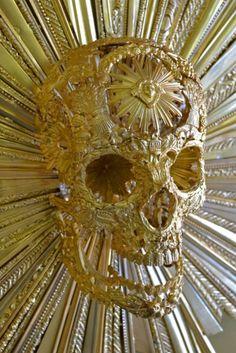 The four seasons. Damien Hirst, The Four, Four Seasons, Bronze, Skulls, Fine Art, Antiques, Summer, Skeletons