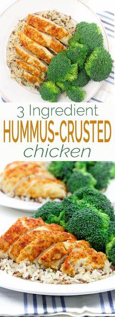 3-Ingredient Hummus-