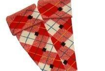 Red Kilt Socks - Knitting creation by mobilecrafts | Knit.Community