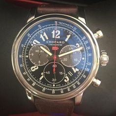 Chopard Mille Miglia XL Chronograph $9,850.00 Racing Edition gent's watch.