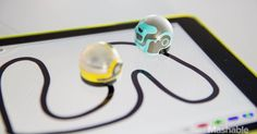 Ozobots tiny Robots are Tangible Tech with iPad App games for learning simple Programming. (Review via Mashable)