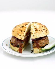 Barbecue Pork Burgers Recipe
