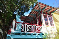 This Saturday March is the annual Shotgun House Tour presented by the Preservation Resource Center of New Orleans. Shotgun House, Wonderful Things, Architecture Details, House Tours, New Orleans, Living Spaces, Cabin, House Styles, Places