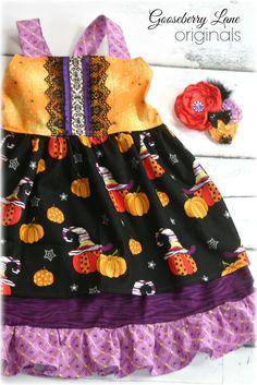 Tabitha Halloween Dress - GBL Originals Holiday Collection