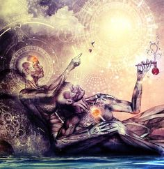 Spiritual Awareness........Bringing the union of the Sacred Couple,the Divine wholeness,the One, the All.