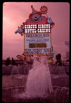This is where my sister and brother-in-law are staying. Circus Circus, Las Vegas