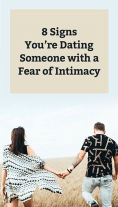 Signs you fear intimacy