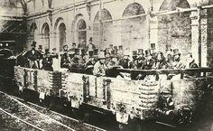 A primeira viagem de trem subterrâneo em Londres – 1862